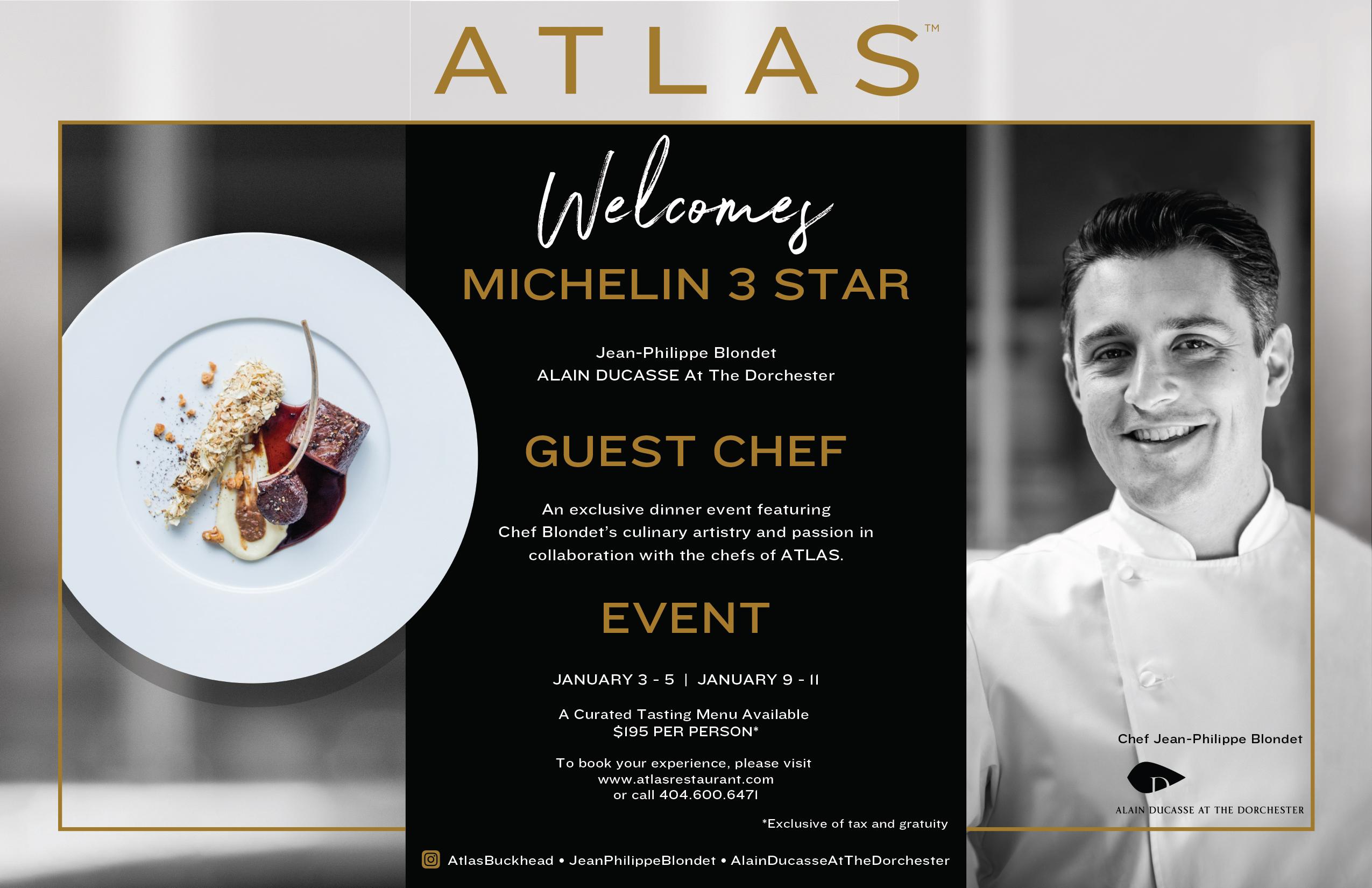 Atlas Guest Chef Dinner