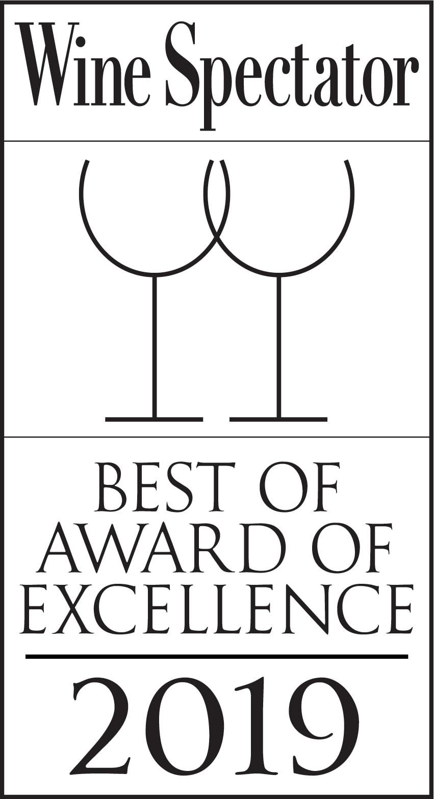 Wine Spectator Best of Award of Excellence 2018