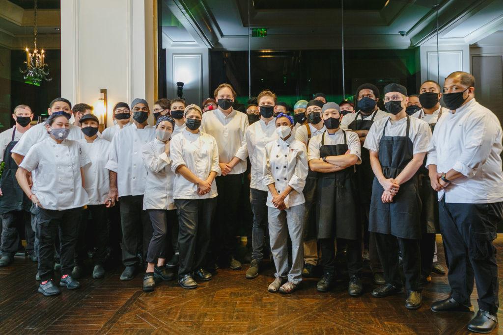 Paul Liebrandt - Culinary Team