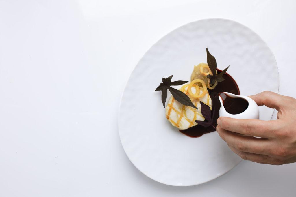 Paul Liebrandt - Seafood Dish